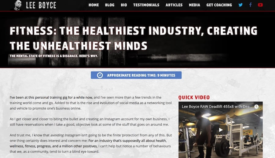 mental health  fitness  hans muench