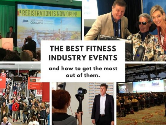 The best fitness industry events